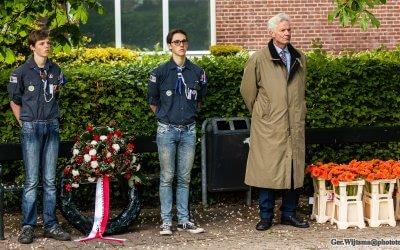Foto's Dodenherdenking 2019